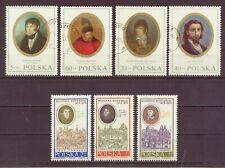 Poland, Copernicus Set of 3, & Portraits, Cancelled to Order, Used, 1970