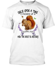 Squirrel- Once Upon A Time... Hanes Tagless Tee T-Shirt