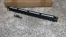 "Belkin 24 Port Cat5e Network Patch Panel 19"" 1U T568A&B - I Ship Out Fast"