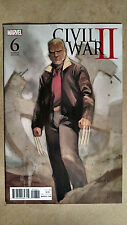 CIVIL WAR 2 #6 1ST PRINT NOTO VARIANT MARVEL (2016) WOLVERINE OLD MAN LOGAN