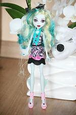 Monster High muñeca Lagoona Blue luz desde macabra a camera Frights Black Carpet