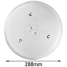 Turntable Glass Plate Tray for SAMSUNG Microwave 288mm Diameter