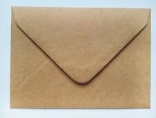C7 A7 Kraft Recycled Paper Mini Envelopes For Rustic Wedding RSVP Save The Dates