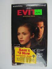 Evita VHS Video New Factory Sealed Madonna Antonio Banderas