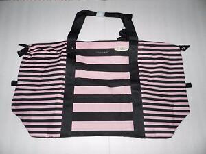 Victorias Secret XLarge Weekender Tote Bag Zipper Top Purse NWT Birthday Gift