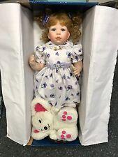 Jeanne Singer Porzellan Puppe 68 cm. Top Zustand