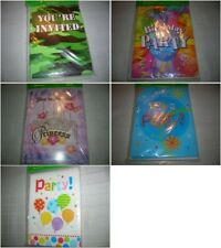 (8) Party Invitations & Envelopes  You're Invited Invitation GIRLS GUYS ALL C17