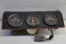 Volkswagen MK1 GTI Volt Meter Clock Temperature Gauges w/ Bracket