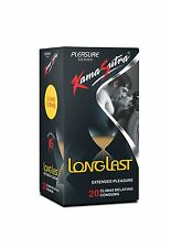 20 x Kamasutra Longlast Condoms For Extended Pleasure, Go Long Go Strong !