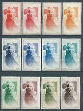 France - 1949 - Vignettes Centenaire du timbre poste série complète  - Neufs**