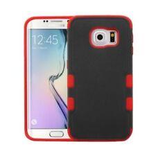 Fundas y carcasas MYBAT de plástico de color principal rojo para teléfonos móviles y PDAs