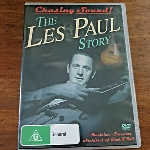 Chasing Sound! The Les Paul Story DVD R4 Like New! – FREE POST