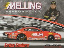 2018 Erica Enders Melling Chevy Camaro Pro Stock NHRA postcard