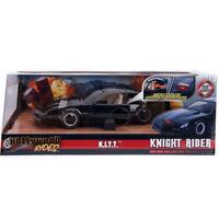 Jada Pontiac Firebird K.I.T.T. Knight Rider Car Scanner Light Black 1:24 30086