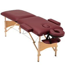 Fold Portable Massage Table Facial Salon Spa Beauty Bed Tattoo w/Free Carry Case