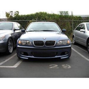 For Bmw E46 Mtech Front Lip Splitter 320i 320ci 325ci 325i 330i 330ci M Tech Abs