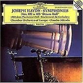 HAYDN J.-SINFONIEN 102,103-CD DEUTSCHE GRAMMOPHON NEW