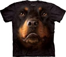 Rottweiler Face Dogs T Shirt Adult Unisex The Mountain