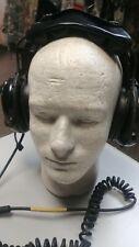 HIGH QUALITY Acousticom Aviation Pilot Microphone Headset