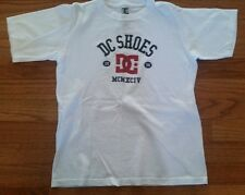 DC SKATE WHITE SHIRT T-SHIRT  BOY'S SIZE L 7-8