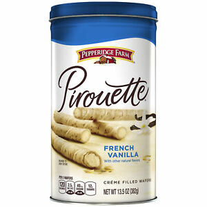 Pirouette Crème Filled Wafers French Vanilla, 13.5 oz.
