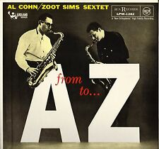 "AL COHN / ZOOT SIMS SEXTET ""FROM A TO Z"" JAZZ LP RCA VICTOR LPM 1282"