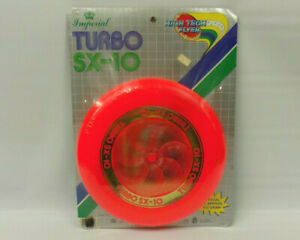 Vintage 1985 Imperial Turbo SX-10 High Tech Flyer Frisbee NEW SEALED
