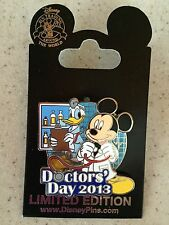 Disney Doctor's Day 2013 Mickey and Donald Pin MOC