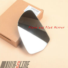 Driver Side Right Outside Wing Mirror Glass For AUDI A3 A4 B8 A6 C6 A8 Superb
