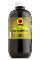 Tropic Isle Living Jamaican Black Castor Oil Plastic PET Bottle (8 oz)