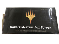 MTG Double Masters Box Topper Factory Sealed
