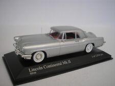 Lincoln Continental Mk II 1956 ARGENTO 1/43 Minichamps 400082301 NUOVO