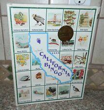 Lucy Hammett California Bingo Educational Family Game