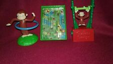 3- Curious George Toys, Wendy's Kid's Meal, 2006