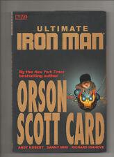 Ultimate Iron Man: Volume 1 - Hardcover - (Grade 9.2) 2006