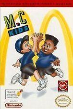 MC KIDS M.C. MCDONALDS ORIGINAL NINTENDO GAME ORIGINAL NES HQ