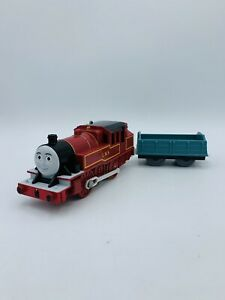 ARTHUR Thomas & Friends Trackmaster Motorized W/ Blue Flatbed