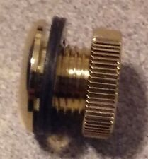 "1/2"" DIE CAST DRUM VENT GOOD FOR TOMS WOODEN SNARES AND BASS DRUMS BRASS"