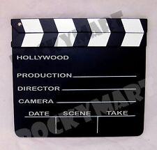 """LARGE 10""""x 12"""" Movie Clapboard Clapper Prop Director (25.4cm x 30.48cm)  RM1969"""