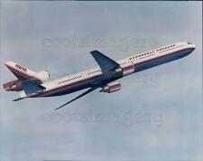 1991 Press Photo McDonnell Douglas MD-12 Plane in Flight