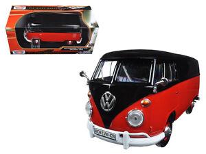 1:24 Volkswagen VW Type 2 T1 Delivery Van - Motor Max Diecast Model Car 79342