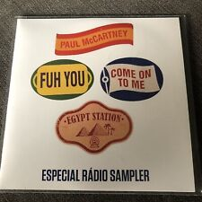 PAUL MCCARTNEY EGYPT STATION BRAZILIAN 7 TRACK ALBUM SAMPLER PROMO CD