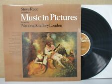Steve Race - Music In Pictures National Gallery London LP Couperin/Handel/Cara
