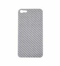 Iphone 5S Real Silver Carbon Fiber Back Plate For Element Vapor PRO SGP Neo Case