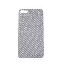 Iphone 5S Real Silver Carbon Fiber Back Plate For Element Vapor PRO SGP Neo Case