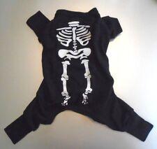 Petco Halloween Skeleton One Piece Dog Costume or Pajamas Size Small