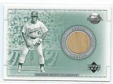 2002 Sweet Spot-Steve Garvey game used bat card-Dodgers