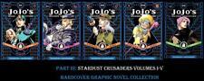 Jojo's Bizarre Adventures Part 3 Stardust Crusaders HARDCOVER Graphic Novels 1-5