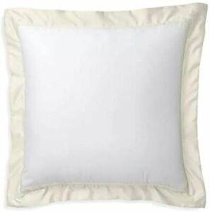 Ralph Lauren Bowery Euro Pillow Sham in Hollywood Cream retail $145