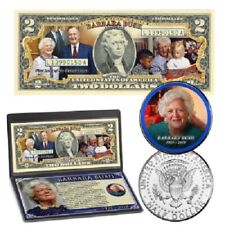 Barbara Bush Tribute Coin & Currency Collection